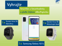 Vyhrajte skvelý smartfón Samsung alebo smarthodinky Garmin