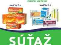 Súťaž o 2x vitamínový balíček pre celú rodinu