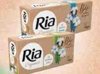 Súťaž o Ria Organic, tampóny z novej rady v biokvalite