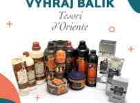 Súťaž o balík kvalitnej drogérie Tesori D'Oriente