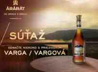 Súťaž o fľašu kvalitnej desaťročnej arménskej brandy ARARAT 10YO Akhtamar