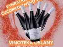 Súťaž o kartón vynikajúceho ČUČORIEDKOVÉHO vína
