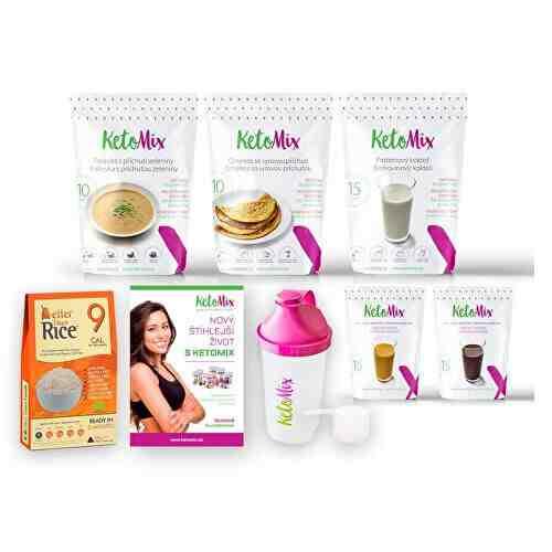 Súťaž o ketónovou diétu na 7 dní od značky KetoMix