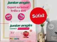 Súťaž o lízanky Junior-Angin pre deti