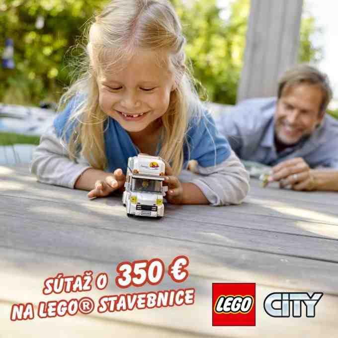 Súťaž o poukaz v hodnote 350€ na nákup LEGO stavebníc