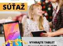 Súťaž o tablet Huawei MatePad T8