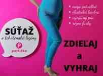 Súťaž o tehotenské legíny vo farbe podľa vlastného výberu