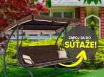 Súťaž o záhradnú hojdačku v hodnote 200€