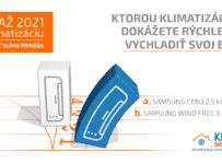 Súťaž s KLIMADODOMU.SK o klimatizáciu značky SAMSUNG