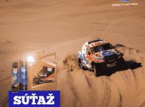 Vyhrajte produkty overené Dakarom