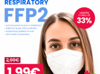 Kvalitné ochranné respirátory typu FFP2