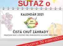 Súťaž o 30 kalendárov na rok 2021