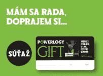 Súťaž o 5x darčekovú kartu Powerlogy v hodnote 50€