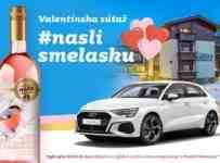 Súťaž o Audi A3 Sportback na týždeň alebo víkendový pobyt v Hoteli Borovica