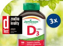 Súťaž o Jamieson Vitamín D