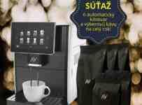 Súťaž o automatický kávovar a výberovú kávu na celý rok