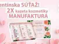 Súťaž o dva balíčky kozmetiky Manufaktura