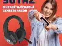 Súťaž o herné stereo slúchadlá Genesis Argon