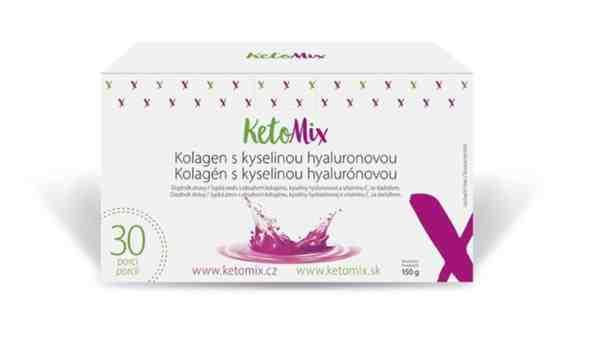 Súťaž o mesačnú kúru KetoMix kolagén s kyselinou hyalurónovou
