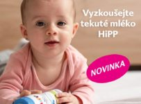 Súťaž o novinku HiPP tekuté mlieko