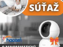 Súťaž o panoramatickú IP kameru