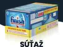 Súťaž o tablety do umývačky FINISH