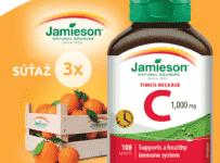 Súťaž o výživové doplnky JAMIESON