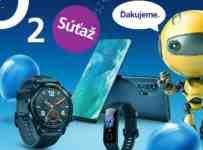 Súťaž s O2 o Huawei Watch GT, Honor Band 5 alebo Motorola Edge+