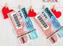 Vaše vyznanie lásky na stravenkách DOXX