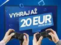 Vyhrajte 20 Eur na shopping na PS Store