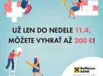 Vyhrajte vďaka Parádnej osemsmerovke až 200€