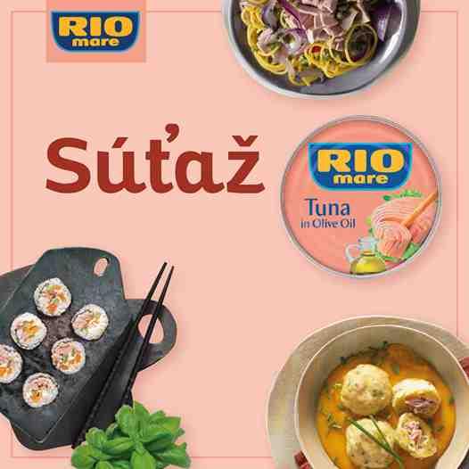 Objavte varenie s Rio Mare a vyhrajte panvice Tefal