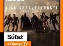 Soutěž s filmom Liga Spravodlivosti o ceny od HBO GO