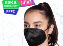 Súťaž o respirátory FFP2 v čiernej farbe