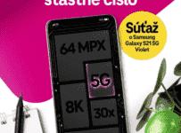 Súťaž Samsung Galaxy S21 5G