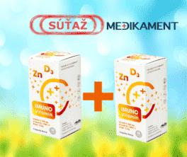 Súťaž o 2 balenia produktu IMUNO Vitamín