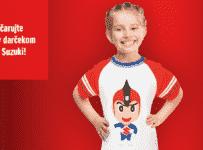 Súťaž o 2x detské tričko Suzuki