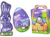 Súťaž o 3 balíčky s čokoládovými pochúťkami Milka k Veľkej noci