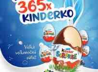 Súťaž o 365 obľúbených vajíčok Kinder surprise