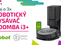 Súťaž o 3x robotický vysávač iRobot Roomba i3+