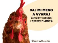 Súťaž o 7-dielny záhradný nábytok ANNA v hodnote 1299€