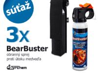 Súťaž o BearBuster, obranný sprej proti útoku medveďa