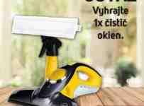 Súťaž o akumulátorový čistič okien Sencor