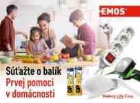 Súťaž o balíček Prvej pomoci od EMOS