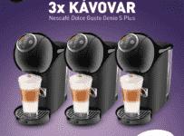Súťaž o kávovar Nescafé Dolce Gusto Genio S Plus