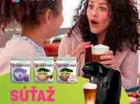 Súťaž o kávovar TASSIMO a tri balenia kapslí