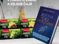 Súťaž o knižný bestseller ZO DNA KU HVIEZDAM a celý rad zelených čajov