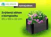 Súťaž o kompozitný zvýšený záhon v hodnote 119€