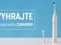 Súťaž o profesionálnu sonickú zubnú kefku Curaprox Hydrosonic Pro