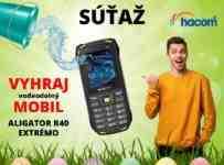 Veľkonočná súťaž o mobilný telefón ALIGATOR R40